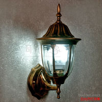 American Edison Retro Wall lamp Outdoor Wall Sconce Lighting Simple Waterproof Garden Wall Light Glass Porch Lights