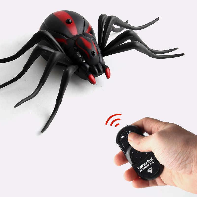 אינפרא אדום RC מצחיק Prank בדיחות צעצוע לילדים מבוגרים מגניב אנטי סטרס גאדג 'ט מעניין חרקים עכביש מקק נמלה צעצוע ילדים