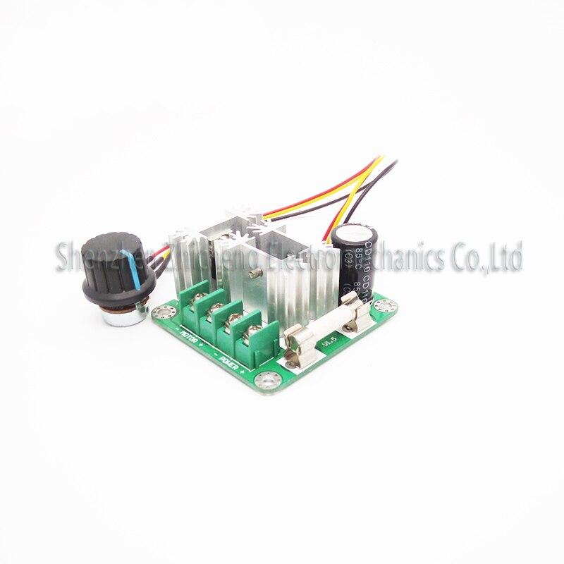 6v 90v 15a Control Pwm Dc Motor Speed Regulator Controller Switch