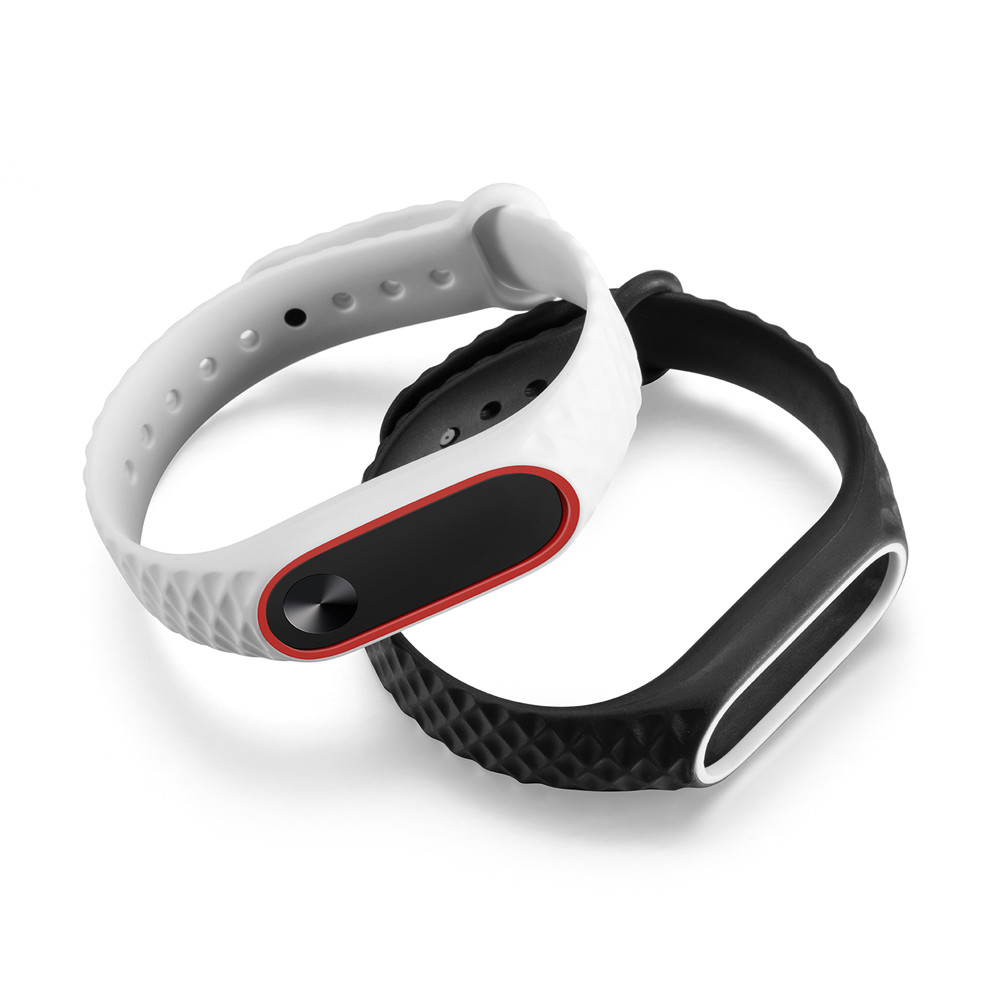 Stylish Soft Silicone Strap TPE Wristband Replacement Strap High Quality For Xiaomi Mi Band 2 Watch Band For Mi Band NEW L0506