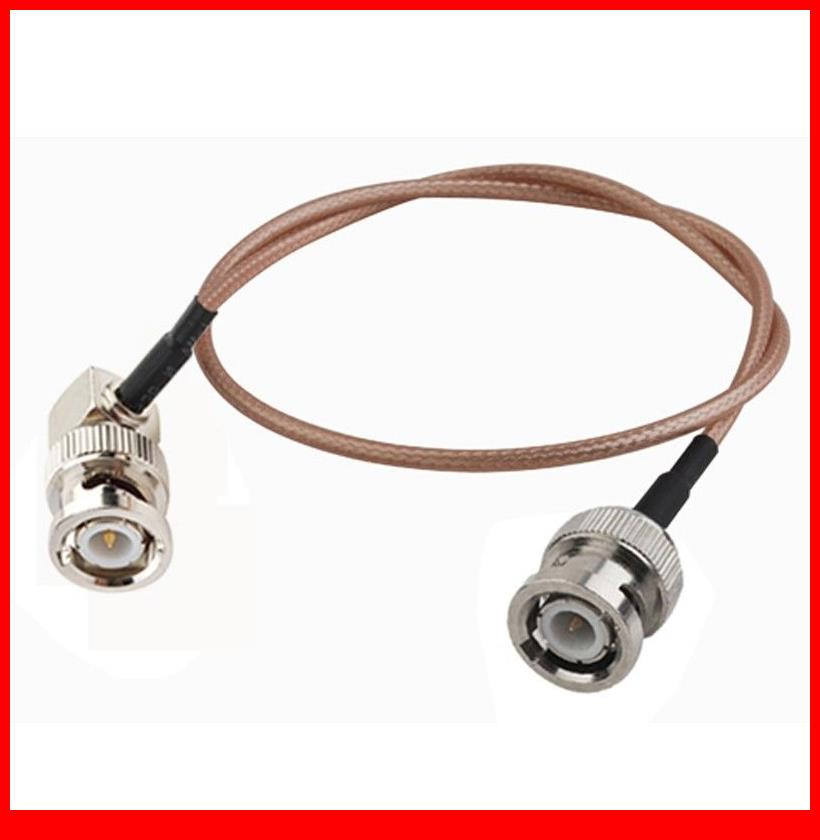 10 pcs 15CM/6' RF EXTENSION Cable BNC Plug to BNC Plug RA COAXIAL Cable RG316 стоимость