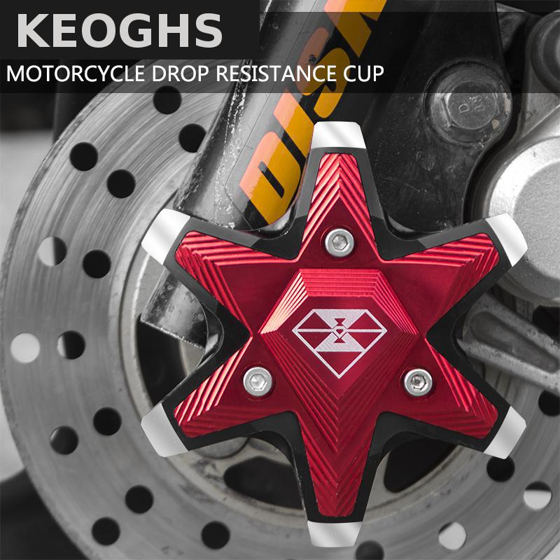 Keoghs Motorcycle Drop Resistance Cup/falling Protection Cnc Aluminum Front Shock Absorber Decoration For Honda Yamaha Kawasaki wheat breeding for rust resistance