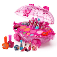19 pcs/set Princess Girl Makeup children's cosmetics car cosmetics girl toy play house toys
