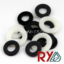 M5 (5mm*10mm*1mm)  Nylon flat washer/Plastic washer/Nylon washer/ DIN125