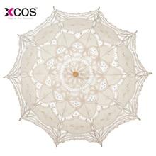 Летний кружевной ручной зонтик для невесты, зонтик для невесты, аксессуары для свадьбы, зонтик для подружки невесты