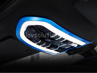 Blue Front Reading Light Cover Trim For Porsche Panamera 970 2010 2015