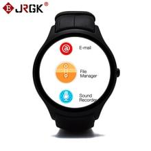 № 1 D5 Android 4.4 Bluetooth GPS Wifi СИМ Смарт Часы с Heart Rate Monitor GPS 512 М RAM 4 Г ROM Crcular SmartWatch Наручные Часы