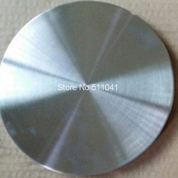Titanium цели, сплава ti-al мишенью для вакуум PVD, 173 мм D X 13 мм L, покрытие из розового-золотая, розово-красный, 2 шт. оптовая продажа, Бесплатная доста...