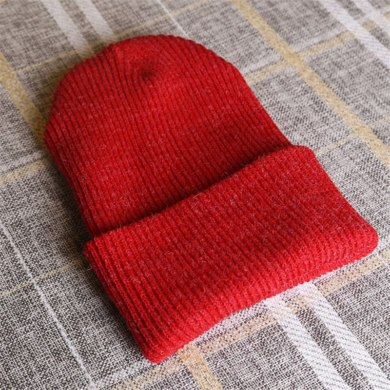 Autumn And Winter Solid Color Blends light Board Sleeve Head Cap Warm Hat Fashion Simple Men and Women Hedging Cap skullies M115 skullies 2017 fashion new arrival indian yoga turban hat ear cap sleeve head cap hat men and women multicolor fold 1866688
