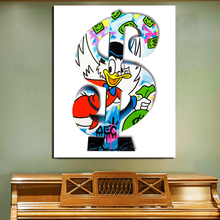 Alec Monopoly Bag Of Money Wall Art Canvas Painting Posters Prints Modern Pictures For Living Room Home Decoration