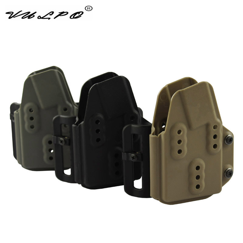 VULPO Tactical Kydex AR Mag Carrier 5.56mm Magazine Pouch For Belt BK DE FG Hunting Airsoft image