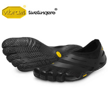 цена на Vibram Fivefingers EL-X Men's Sneakers Indoor gym Lightweight Sports Leisure Fitness barefoot Hard pull Squat Training Shoes