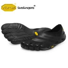 цены на Vibram Fivefingers EL-X Men's Sneakers Indoor gym Lightweight Sports Leisure Fitness barefoot Hard pull Squat Training Shoes  в интернет-магазинах