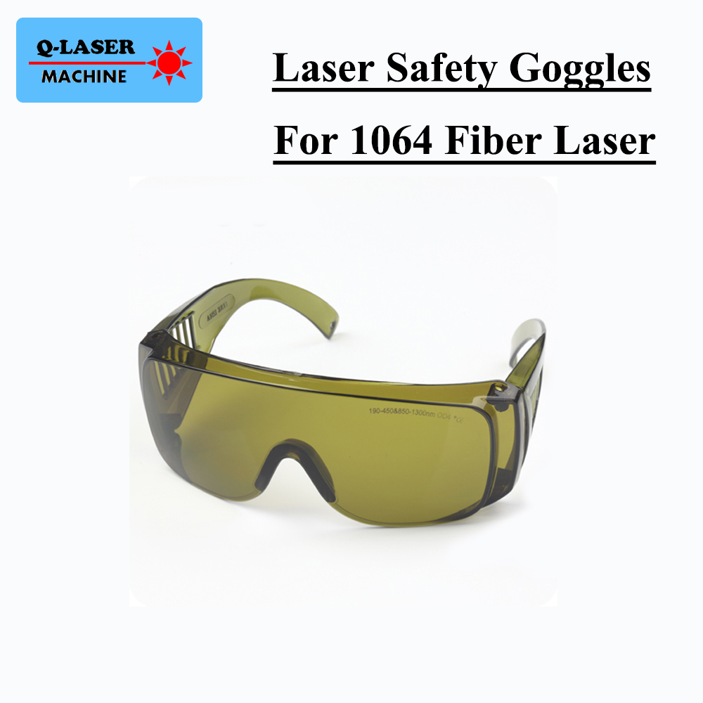 1064nm Laser Protective Goggles Style B Laser Safety Goggles 850-1300nm OD4 CE For Fiber Laser цена