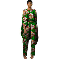 African Sets Ankara Patterns Suits For Wedding Wax Prints Tops With Pants Fashion Africa Clothing Tailor made Dashiki Clothes