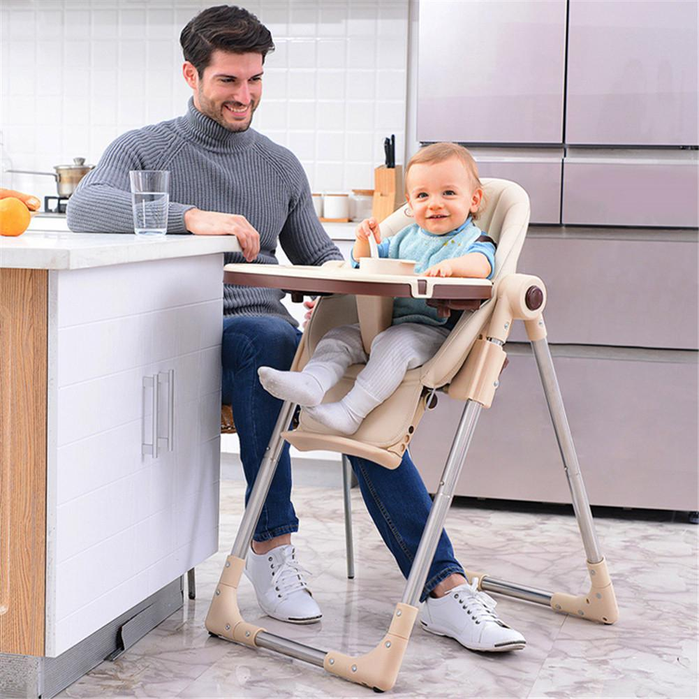Baby Folding Dining Chair Multi-functional Baby Stool Seat Baby Seat Chair  Children's Dining Table Chair