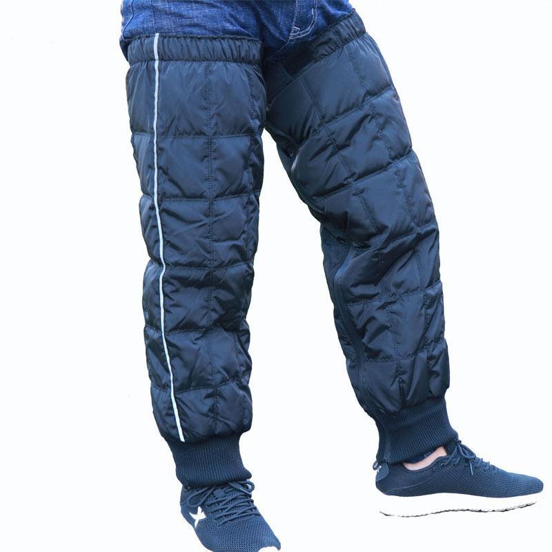 Winter Leg Warmers Women Men Motorcycle Bicycle Driving Ski Snowboard Knee Warmers Windproof Waterproof Knee Protection Gear