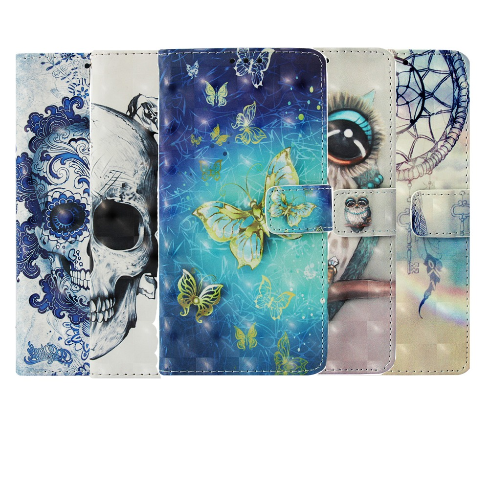<font><b>3D</b></font> Printed Butterfly Flip Case for Nokia 2.1 3.1 5.1 <font><b>6</b></font> <font><b>6</b></font>.1 7Plus Wallet PU Leather Case For <font><b>Oneplus</b></font> 5 5t <font><b>6</b></font> OPPO R9S R11 A57 A59 image
