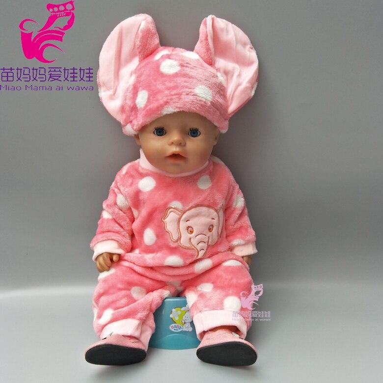 43cm Bayi lahir pakaian boneka kartun ayam set untuk 18 inch zapf - Boneka dan aksesoris - Foto 3