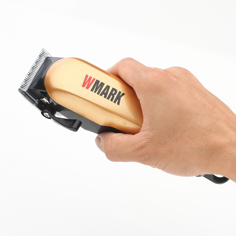 Image 3 - WMARK Professional Wired Hair clippers Hair Trimmer 6000 6500rm DC motor Sharp and light free blade set with  guide comb NG 555-in Hair Trimmers from Home Appliances