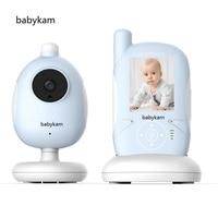Babykam 2.4 inch monitor camera baby phone IR Night vision Lullabies Temperature Monitor Intercom Feeding Alarm babyphone nanny