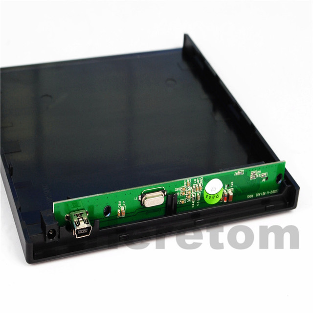 12.7mm USB 2.0 External DVD/CD-ROM Case , IDE/ PATA to SATA Optical Drive External DVD Enclosure For Laptop