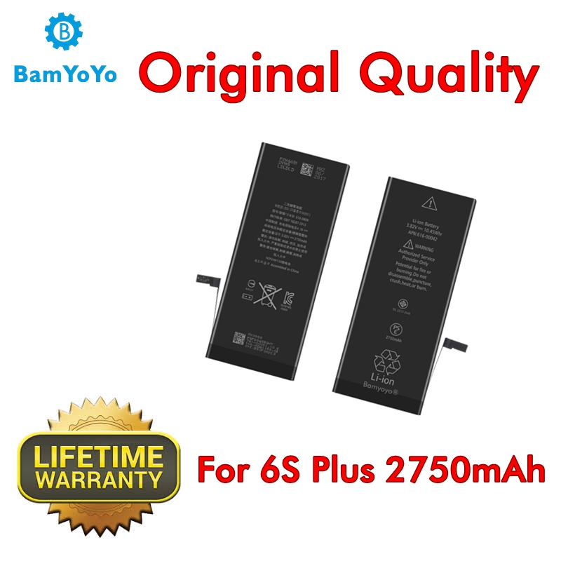 Replacement iPhone 6s Plus --Battery2750mah-3.8v Original-Quality for Internal Repair-Parts