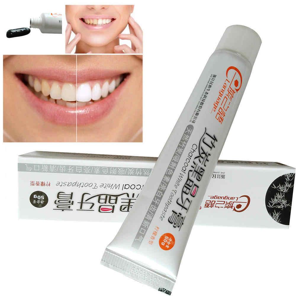 100% wybielająca pasta do zębów marki bambusa węgiel czarny czyszczenia zębów higieny jamy ustnej zdrowia Dental higieny jamy ustnej bezpieczne wysokiej jakości