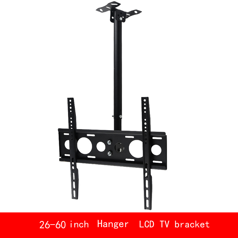 VESA standard Universal 26-60 inch PC Monitor LCD TV bracket Telescopic Hanger max load 30KG vesa standard 14 32 inch move up or down pc monitor plasma lcd tv bracket vertical toughened glass base stent