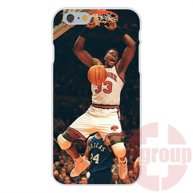 New York Knicks on Basketball For Apple iPhone 4 4S 5 5C SE 6 6S 7 7S Plus 4.7 5.5 Soft TPU Silicon Capa Case