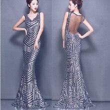 Sexy Barato Sirena Larga Noche vestido de noche de China Las Mujeres Usan vestidos de Noche Formales Vestidos vestidos de fiesta largos elegantes