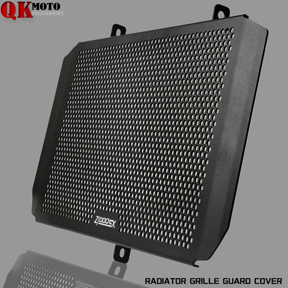 1 Piece Motorcycle radiator protective cover Guards Grille Cover Protecter For KAWASAKI Z800e 2013 2017 z1000SX Customized