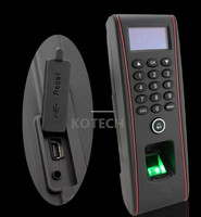 TCP/IP TF1700 fingerpirnt проверки ip65 Водонепроницаемый устройство контроля доступа/контроля доступа по отпечаткам ZKTECO TCP/IP программного обеспечения