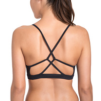 Femmes de Lumière Soutien Croix À Lacets Retour Féminin soutien-gorge de  sport yoga 3cbf46971d6