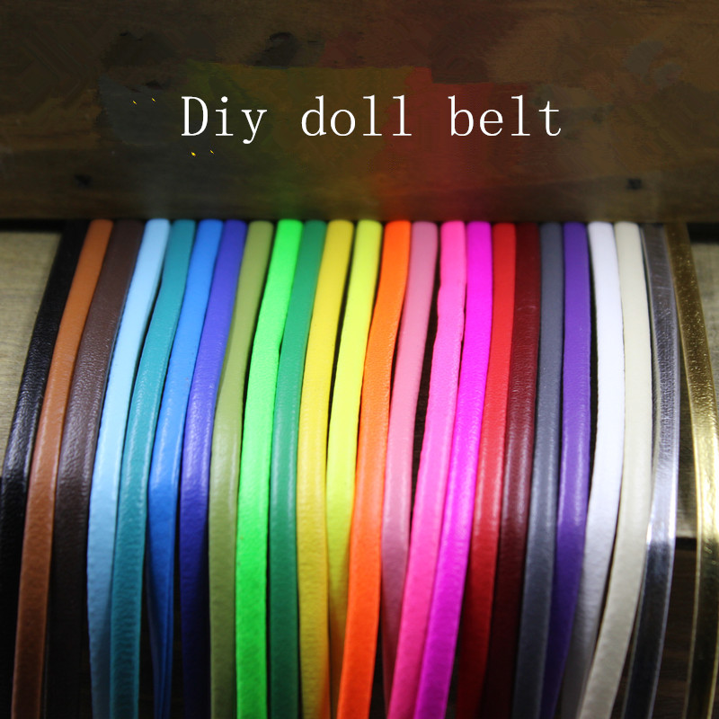 blyth bjd doll clothes DIY handmade Super mini doll belt long 50cm width 5mm DIY Doll accessories Free shipping