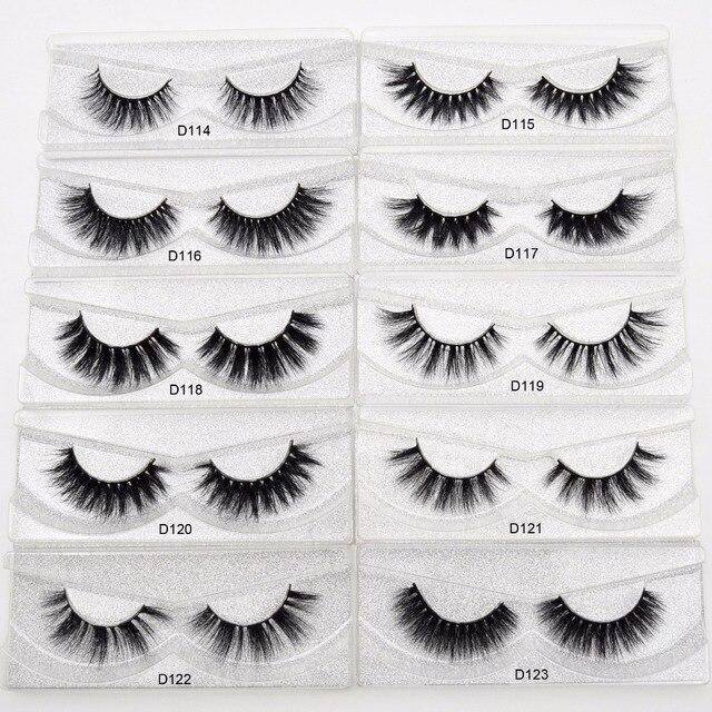 Visofree Eyelashes 3D Mink Lashes Handmade Full Strip Lashes Cruelty Free Luxury Mink Eyelashes Makeup Lash maquiagem faux cils 4