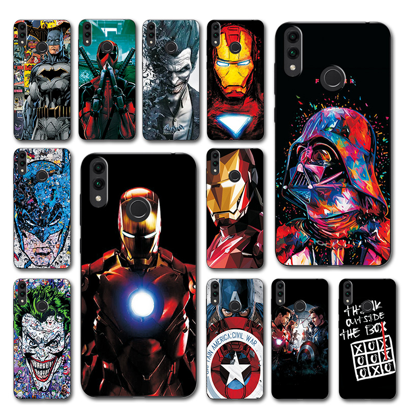 Fitted Cases Captain America Phone Case For Huawei Honor 8c Novelty Silicone Cover Honor 8c Case For Huawei Honor 8c Bkk-l21 8 C Honor8c