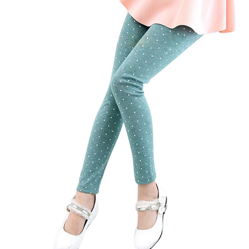 Summer Toddler Kids Baby Girl's Pants Stretchy Leggings Trousers Candy Color 2-7Y