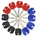 12pcs Lot Motorcycle Blank Key Uncut Blade For Kawasaki ZX6R ZX9R ZX10R ZXR250 ZXR400 ZZR400 ZZR600 and other