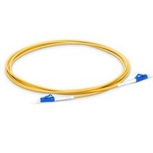 LC UPC Cable de parche de fibra óptica de 15m, puente óptico de PVC de 2,0mm dúplex, Cable de parche de fibra FTTH de modo único, conector LC