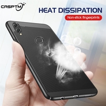 Heat Dissipation Case For Huawei Honor 8X 10 9 8 Lite 7X 6X 7A 7C 6C Pro V10 V9 Play Hard PC Hollow Cases Phone Cover Thin Coque
