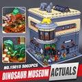 Nueva LEPIN 15015 5003 unids Genuino Ciudad Creador El museo de dinosaurios Regalo Juguetes Educativos Modelo Kits de Construcción de Juguete Ladrillo Compatible