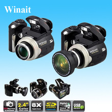 Max 16MP 12MP Digital Camera 8x Digital Zoom Camcorder DC510T Cameras DSLR with Wide Angle Lens