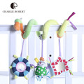 Funny Baby Toys 0-12 Months Mobile Toys For Kids Baby Rattle Stroller Car Bed Hanging Toys Educational Plush Rattles HK1117