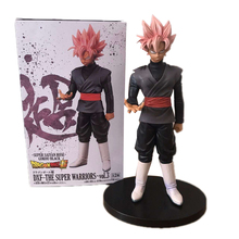 20cm Dragon Ball Z Super Saiyan Rose Black Gokou Figure Super Warriors vol.3 Black Goku PVC Action Figure Toys