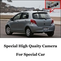 Car Camera For TOYOTA Yaris Vitz Hatchback MK2 2005~2013 High Quality Rear View Back Up Camera For Fans Use | CCD + RCA