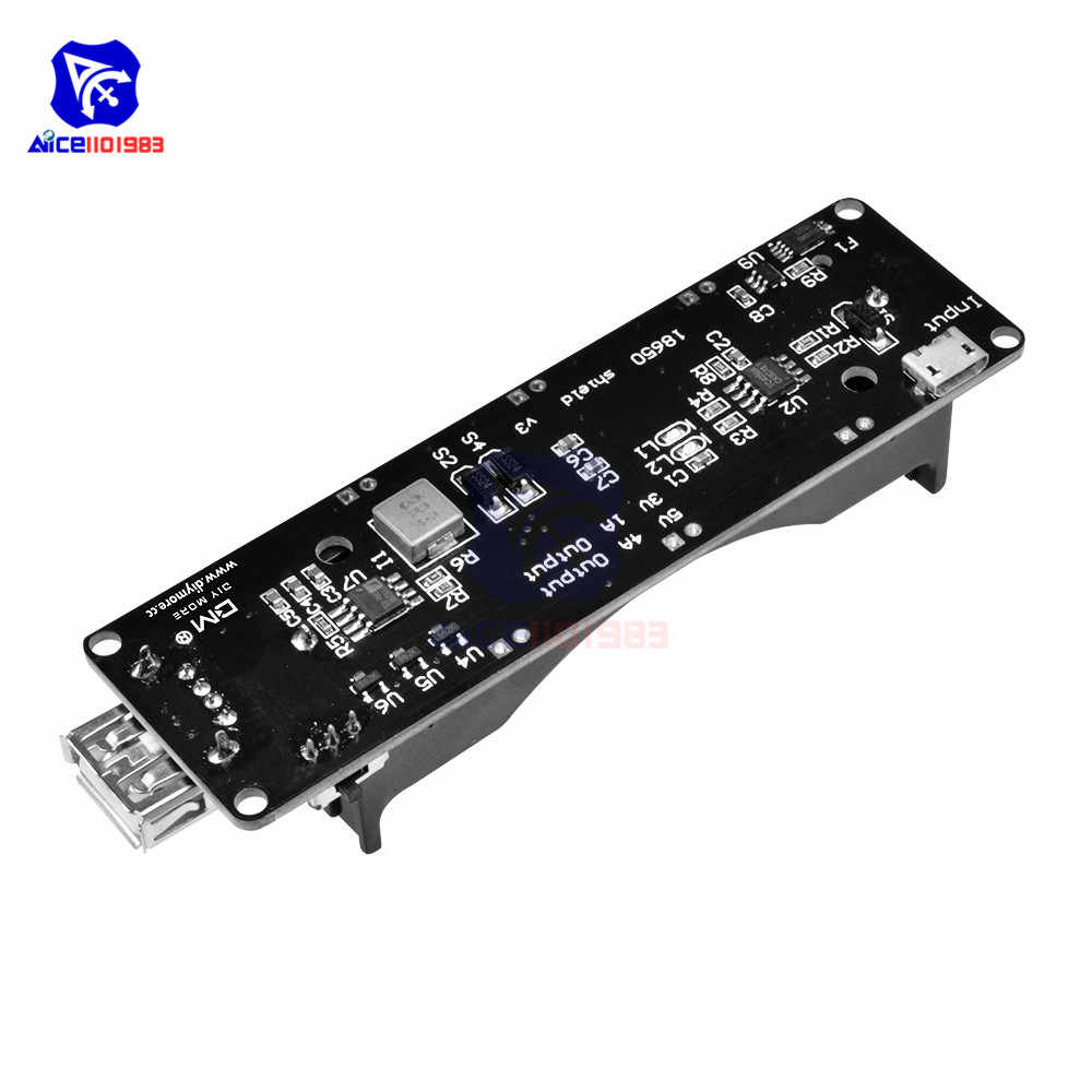 ESP32 ESP32S WeMos 18650 Battery Charge Shield Board V3 Micro USB Port Type-A USB 0.5A for Arduino Raspberry Pi Charger Module