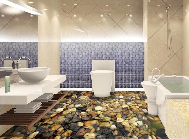 Acquista all'ingrosso online ciottoli piastrelle pavimento da ...