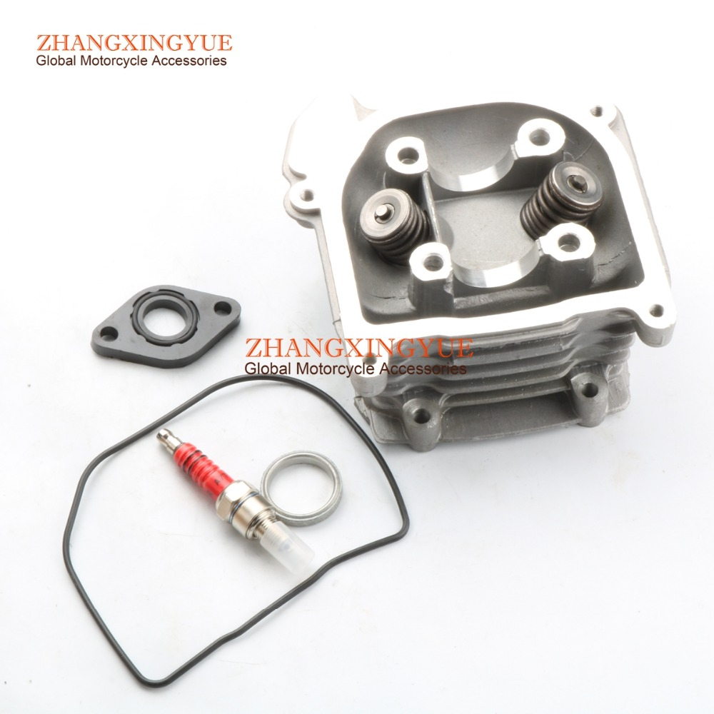 50mm 100cc SCOOTER moped engine Cylinder Head Valves for GY6 50cc 139QMB