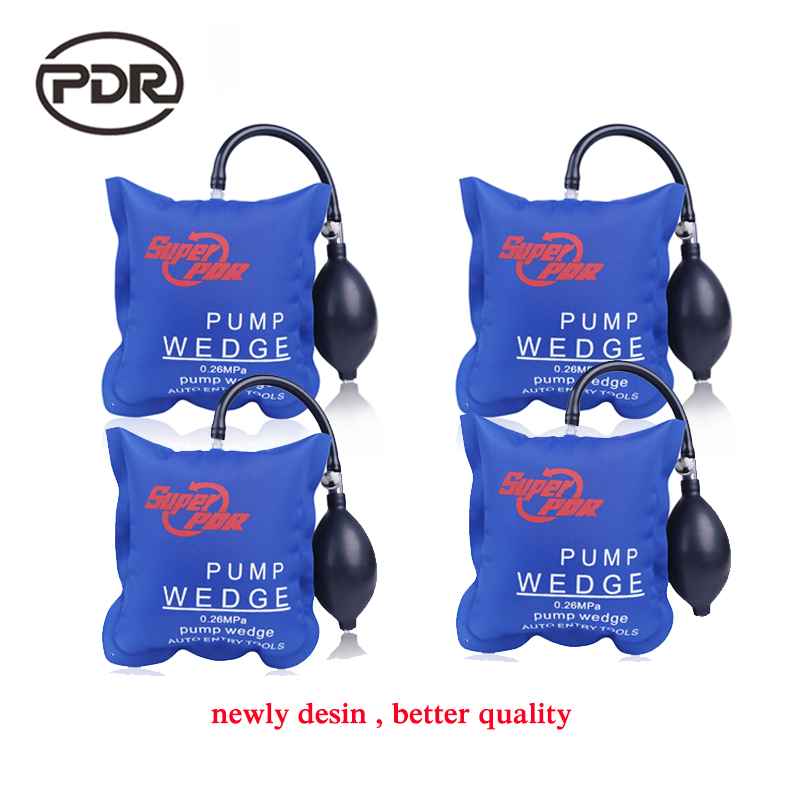 PDR Pump Wedge Locksmith Tools  Air Wedge Airbag Lock Pick Set Open Car Door Lock Opening Tools 4pcs/set pump wedge locksmith tools super pdr auto air wedge airbag lock pick set open car door lock hand tools 3pcs set